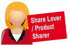 Share Lover / Product Sharer